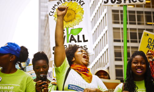 Climate justice and the struggle to save the planet