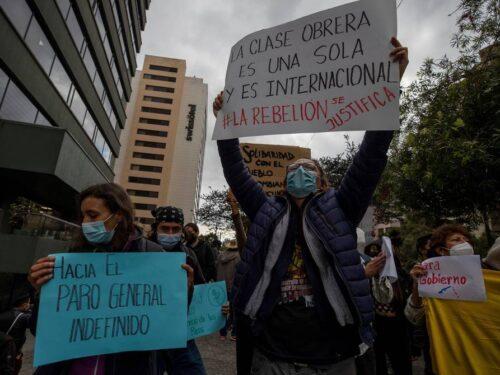 Colombia: un popolo insorto fra tutela dei diritti e repressione